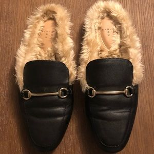 Target Furry Loafers